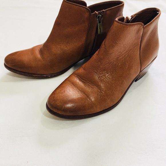 2749604cc Sam Edelman Petty Saddle Leather Ankle Bootie. M 5b20761dc617777c8752e1dd